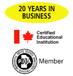 17 years in business - certified educational institution